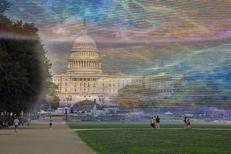 Visão além do alcance Washington
