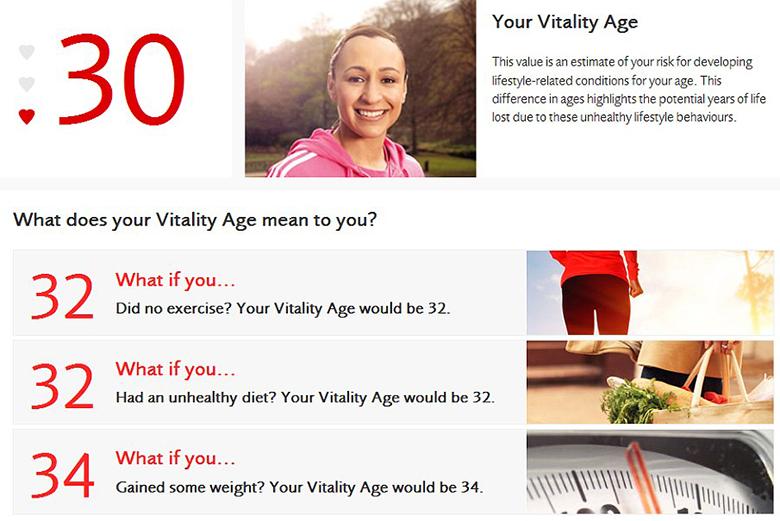 A idade real do corpo