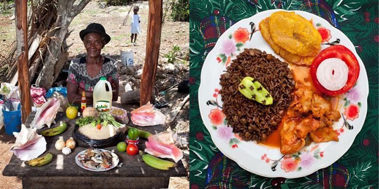 Dieta da vovó no Haiti