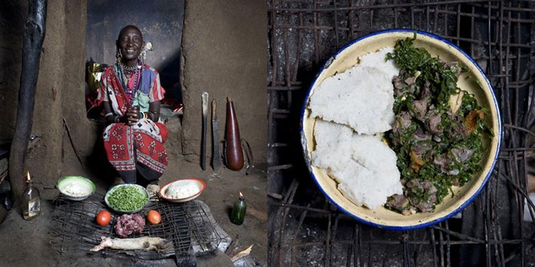 Dieta da vovó no Quênia