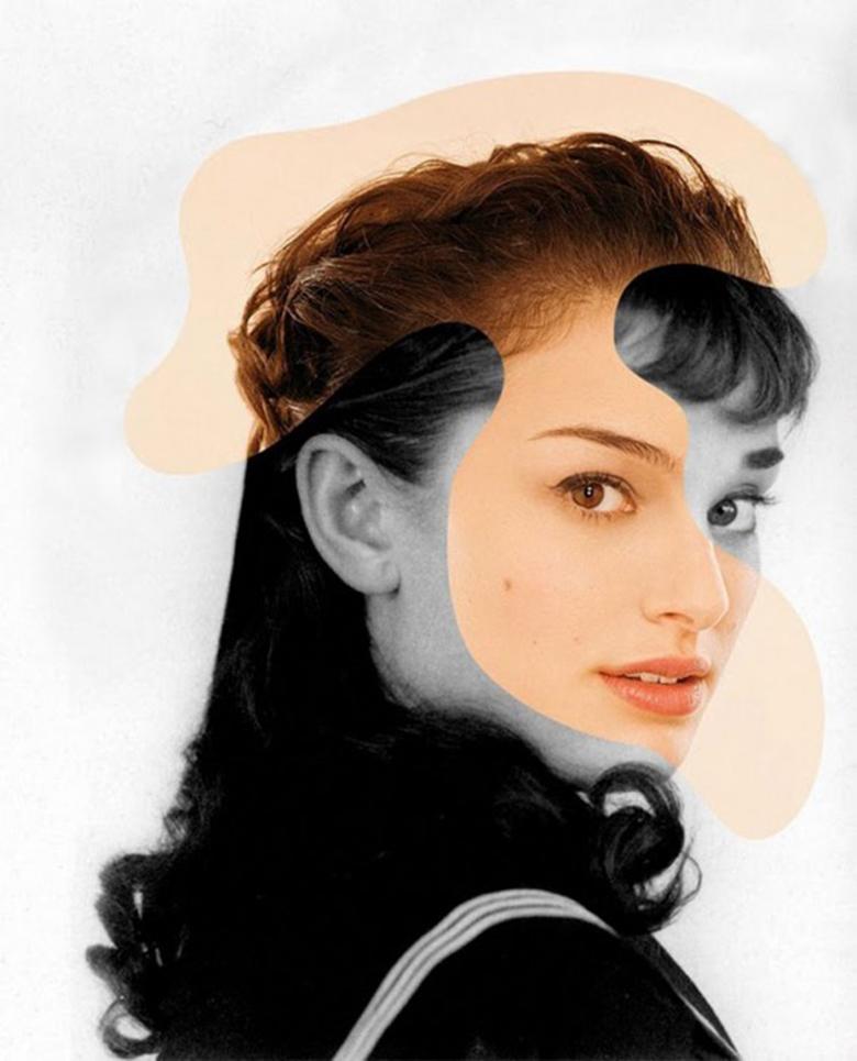 Natalie Portman + Audrey Hepburn